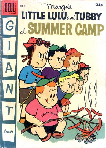 Download de Revista  Little Lulu and Tubby at Summer Camp [Dell Giant 005]