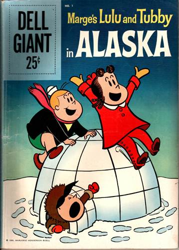 Download de Revista  Little Lulu and Tubby in Alaska [Dell Giant 001]