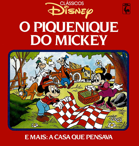 Download de Revista Clássicos Disney (Ed. Nova Cultural) - 05 : O Piquenique do Mickey & A Casa que Pensava