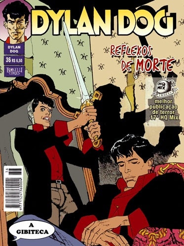 Download de Revista Dylan Dog (Ed. Mythos) - 36 - Reflexos de Morte