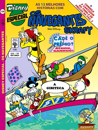 Download de Revista Disney Especial - 135 : Os Navegantes