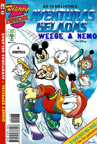 Download de Revista Disney Especial - 168 : Aventuras Geladas