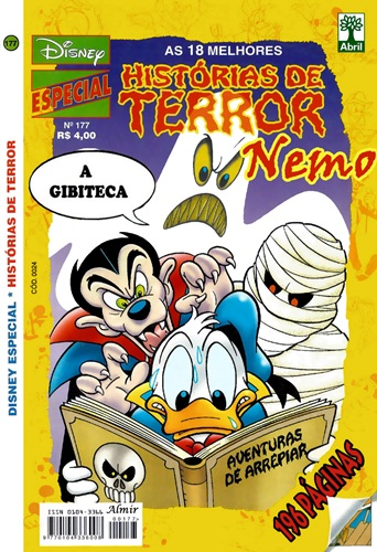 Download de Revista Disney Especial - 177 : Histórias de Terror