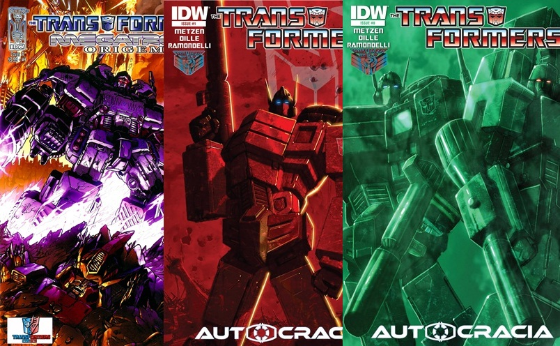 Download de Revista Transformers : Autocracia